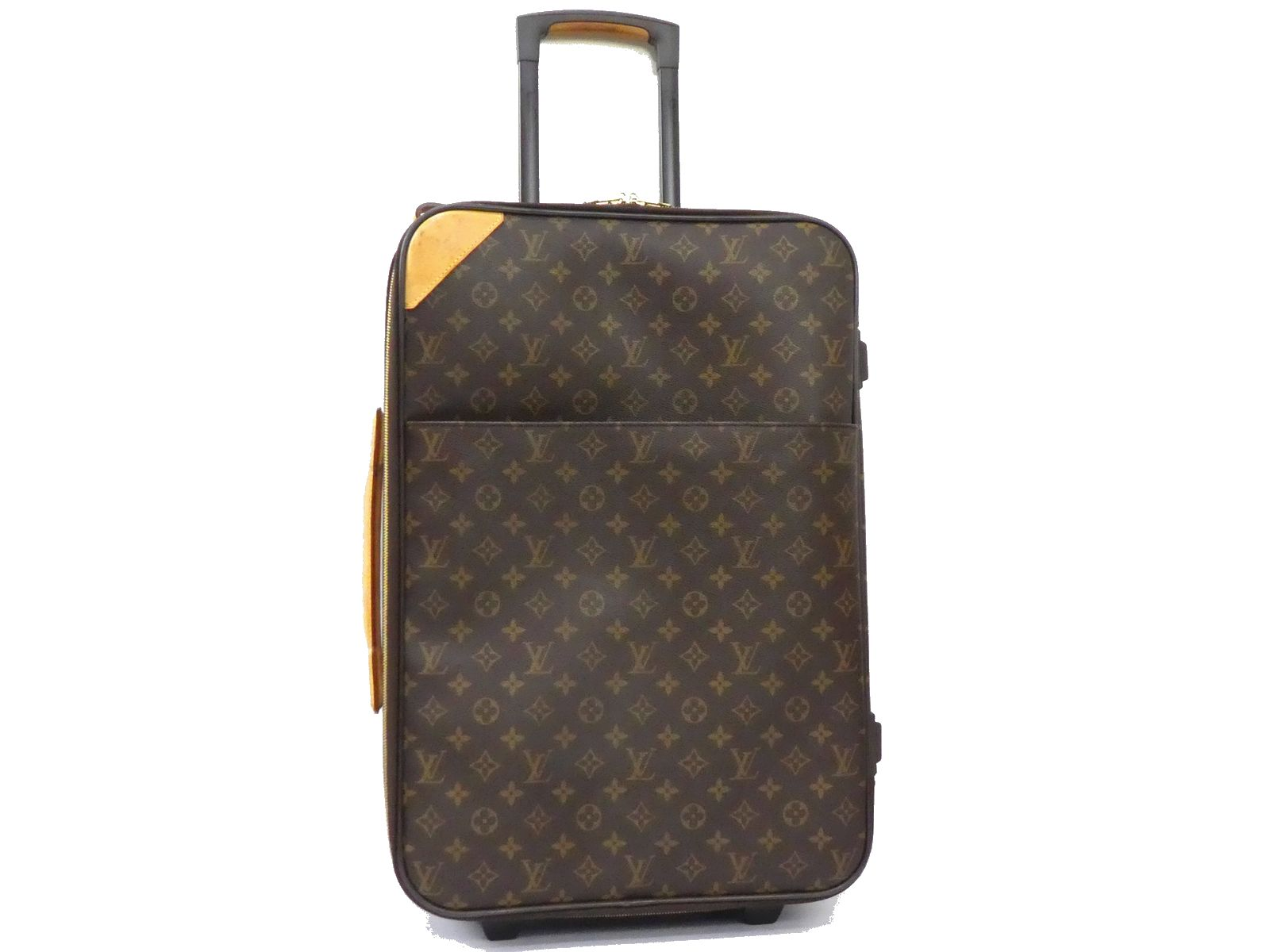 11512711850a Details about Auth LOUIS VUITTON Monogram Suitcase Carry Bag Luggage Travel  Pegase 55 D1070